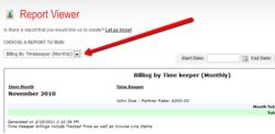 Easy Legal Billing Reporting