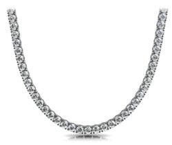 "Classic ""Riviera"" Diamond Necklace"