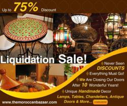 Moroccan Furniture Sale