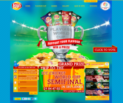 Lays Flavour World Cup 2011
