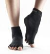 Black half-ToeSox with grip