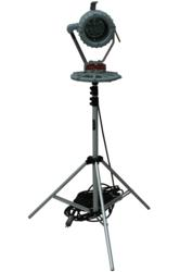 Explosion Proof 30 Watt LED Light on a Tripod for hazardous location lights