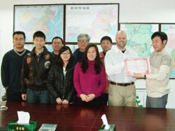 Jason Prescott with Jiaozhou Government
