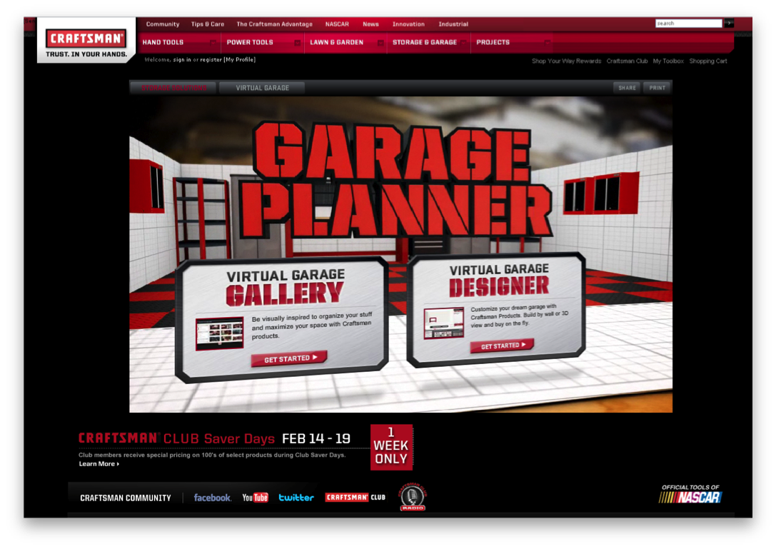 Charming Craftsman Garage Planner #10: Craftsman Garage Planner Outstanding Achievement. Fluid Snags Eight IMA  Awards For Top Retail Fashion And