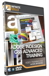 Advanced Adobe InDesign CS5 Tutorial Cover Image