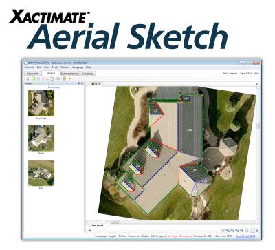 Xactware Releases Aerial Sketch For Xactimate