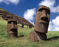 Smithsonian travelers experience the mystery of the moai of Easter Island