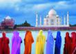 Around the World by Private Jet features time at the dramatic Taj Mahal