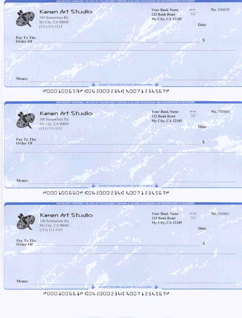 How To Write 3perpage Check Printed By Ezcheckprintingezcheckprinting  Can Generate Preprinted Micr Check Chase Bank Bonus Offers