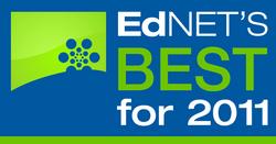 EdNET's Best 2011 Recognition Program Logo