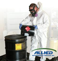 Allied Environmental Services, Inc, hazardous waste, drum, disposal