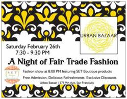 A Night of Fair Trade Fashion