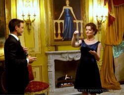 Henry Rearden gives his wife a Rearden metal bracelet