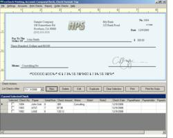 easy to use check printing software