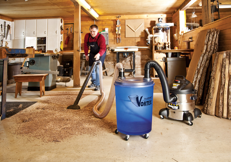 wood dust vacuum