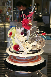 Advanced sugar work showpiece