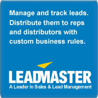 LeadMaster All-in-One Solution - Lead Tracking, Lead Management, Opportunity Management, CRM, Email Marketing, Workflow Automation