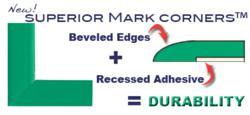 green floor marking tape L shaped corner marker