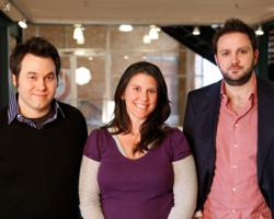 Scott McCall, Christin Prince, Trevor O'Brien (Left to right)