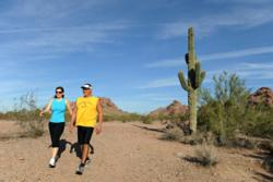 Hiking in Papago Park