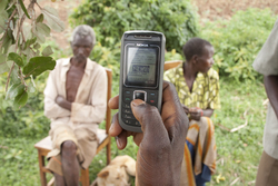 Nuru International microfinance mobile banking with M-PESA in Kenya