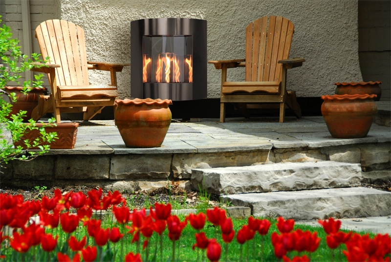 The Outdoor Greatroom Company Introduces The Inspiration Fireplace