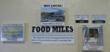 Signage promoting the benefit of buying local through food miles.