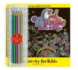 Color the designs with Metallic Pencils