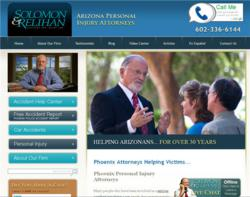 Solomon & Relihan, Accident and Injury Law web site