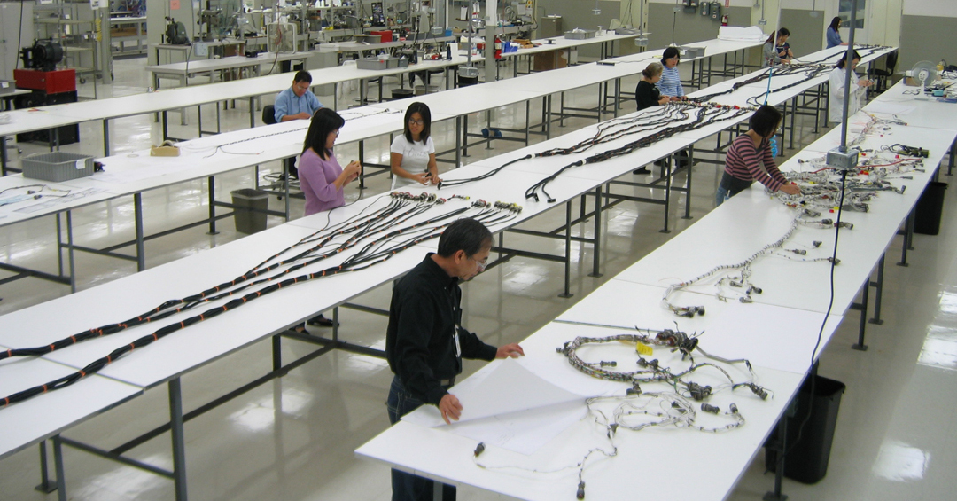 mfgfloor026 co operative industries aerospace & defense expands manufacturing aircraft wire harness at eliteediting.co