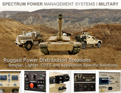 Spectrum Power Management Systems' Military power products