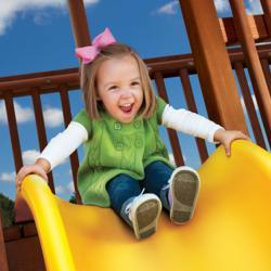 Woodplay Swing Set Slide