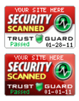Trust Guard Security Scanned seals