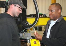 ESAB Service, plasma cutting gantries