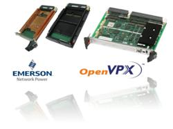 First Emerson Network Power OpenVPX Boards Feature 2nd Generation Intel