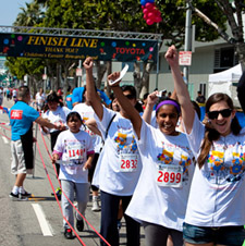 The Kids 4 Kids 5K RUN/WALK benefiting the Children's Cancer Research Fund is April 17 in Los Angeles.