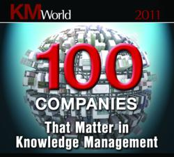 KMWorld 100 Companies Matter in KM 2011