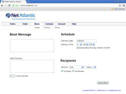 Mobile Text Campaigns can easily be combined with Email Marketing