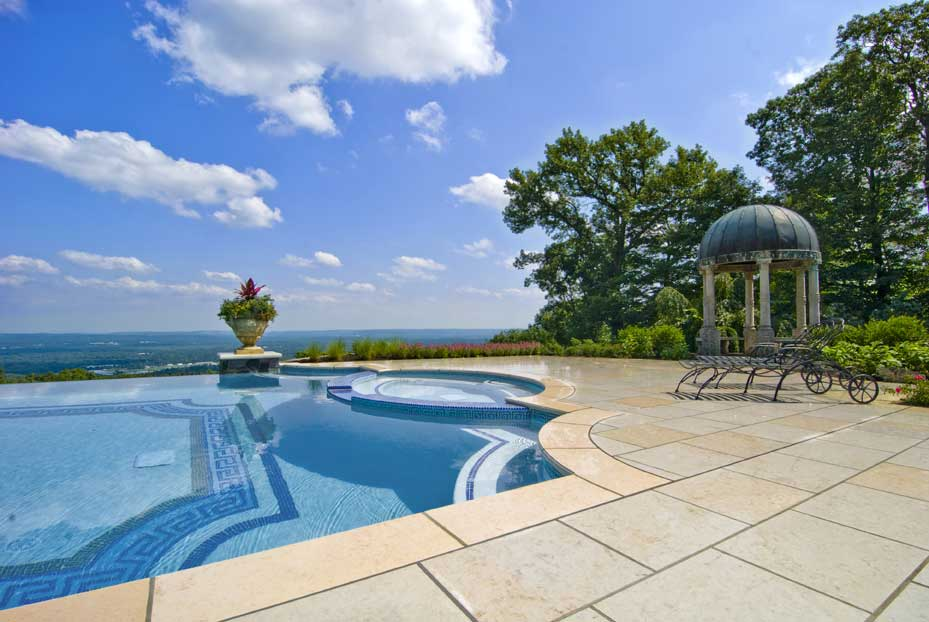 New jersey swimming pool and landscaping company profiled for Luxury swimming pools