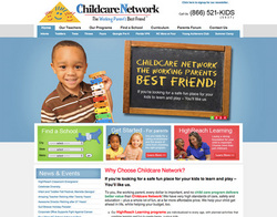 Childcare Network's New Website