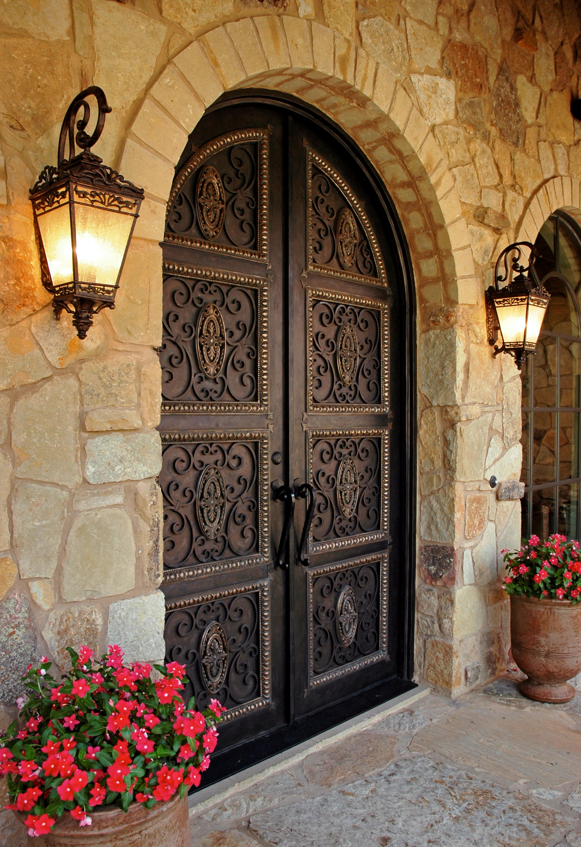 2916 #AD1E2A Wood Doorscustom Doorsiron Doorswrought Iron Doorsfront Doorsmahogany  pic Wood Wrought Iron Doors 43112000