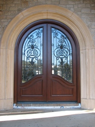 Grand Doors Makes Grand Entrance in New York New Jersey and Connecticut Now Got Grander with Hand Forged Wrought Iron Doors & Grand Doors Makes Grand Entrance in New York New Jersey and ...