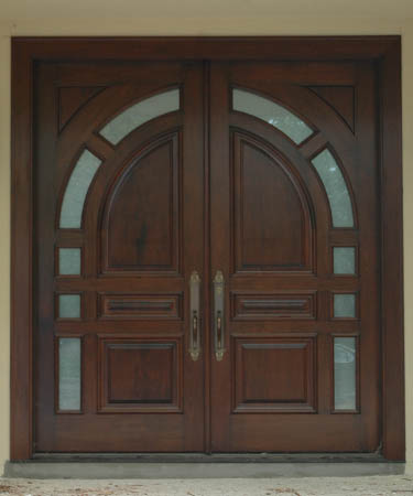 oak wood doors