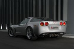 Akrapovic Corvette Exhaust