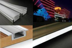 LED strip Extrusion Profiles