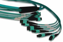 Siemon's 40Gb/s and 100Gb/s OM4 Plug and Play Fiber Optic Cabling Assemblies