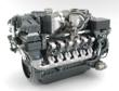 MTU Series 4000 diesel engines are able to meet EPA Tier 4i emissions requirements without aftertreatment.[Pictured: 12V 4000 T94]
