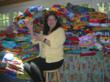Quilts for Kids founder Linda Arye