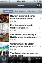 SILive.com iPhone app