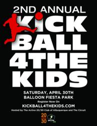 Kickball 4 The Kids in New Mexico